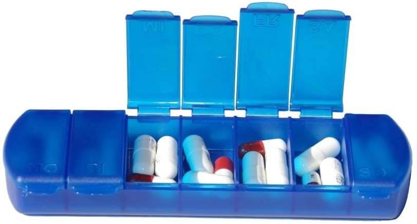Tablettenbox Woche